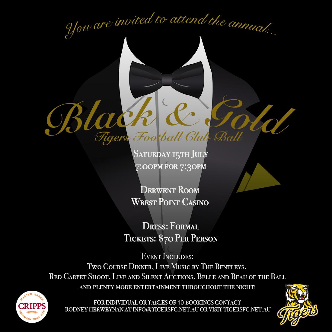 Black & Gold Ball – Tigers FC