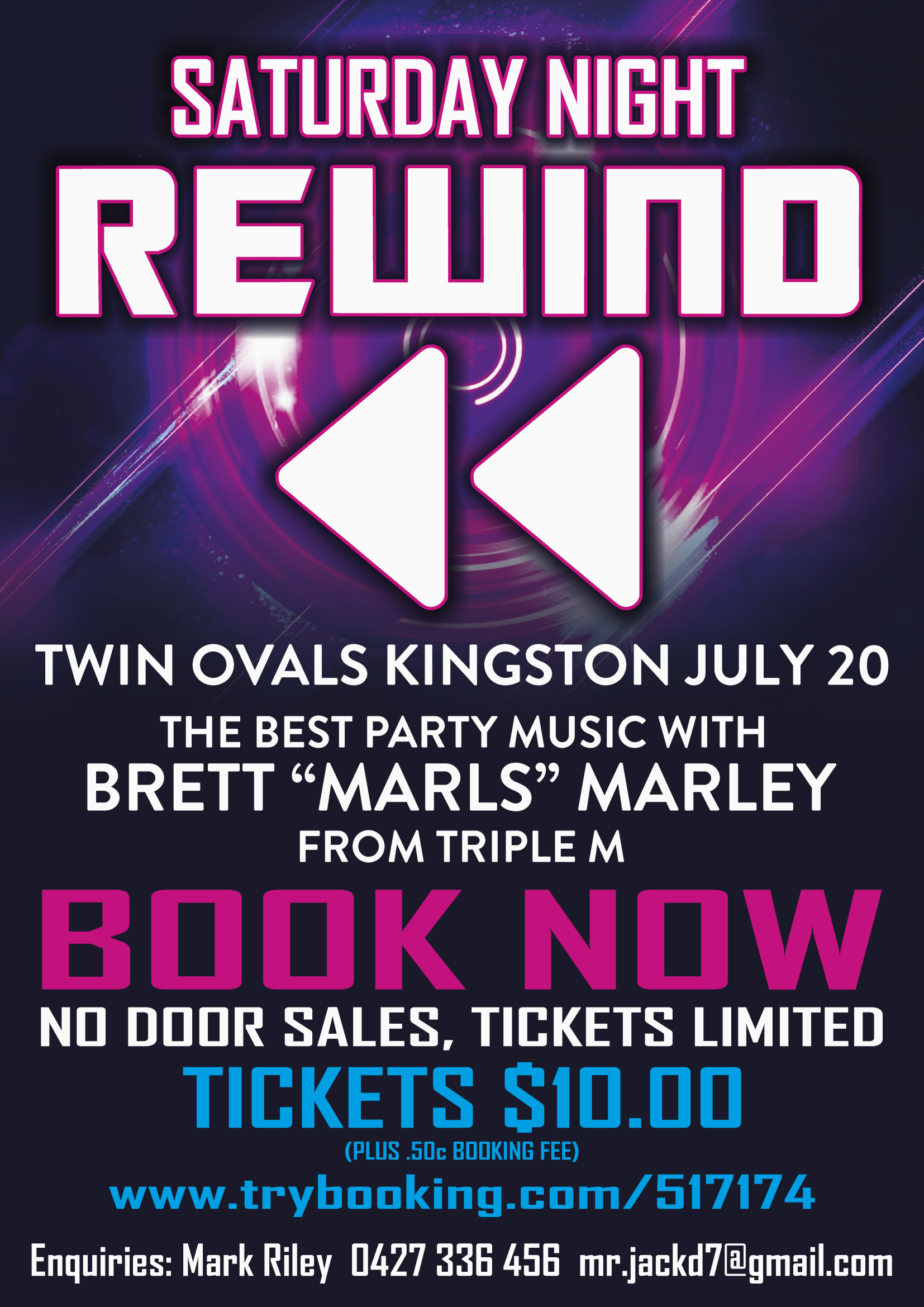 Brett Marley's – Saturday Night Rewind