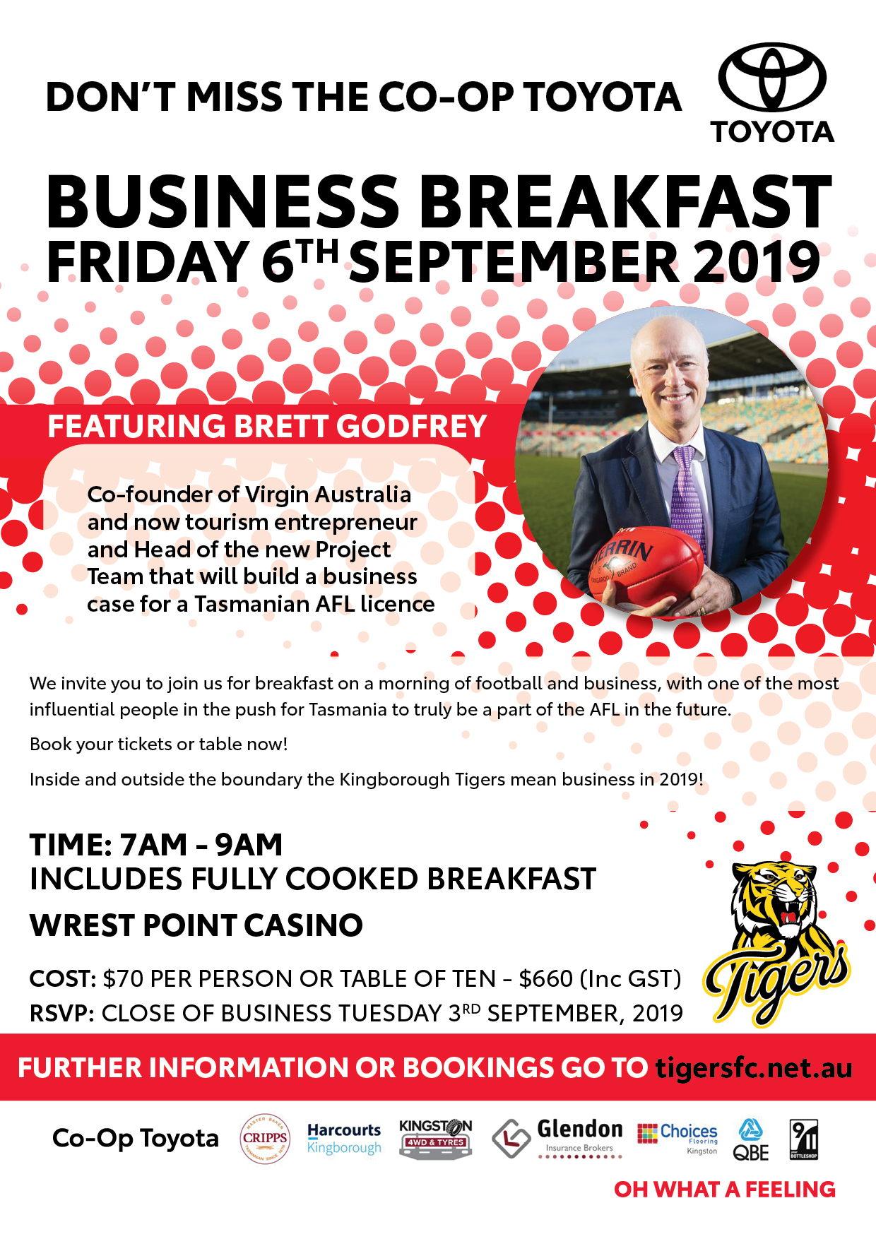 The Co-Op Toyota Business Breakfast