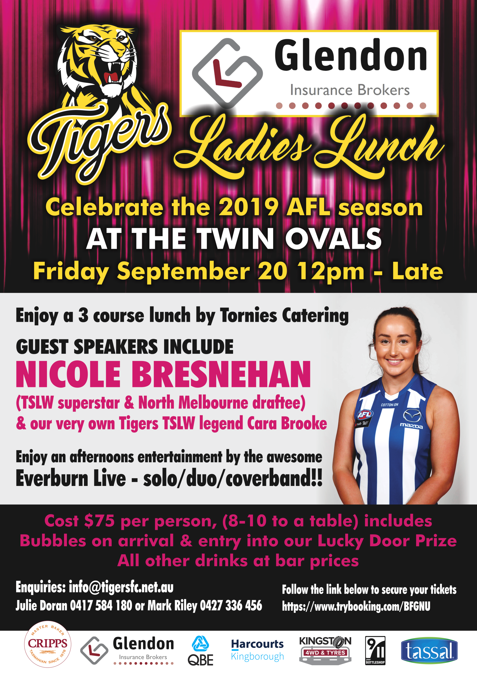 Tigers Ladies Grand Final Lunch